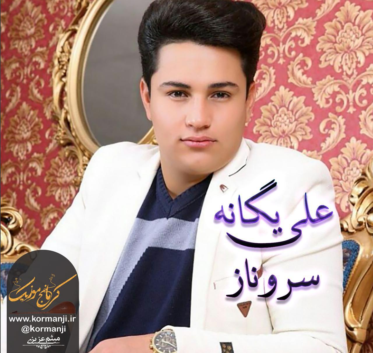 آهنگ جدید از علی یگانه به نام سروناز در کرمانج موزیک