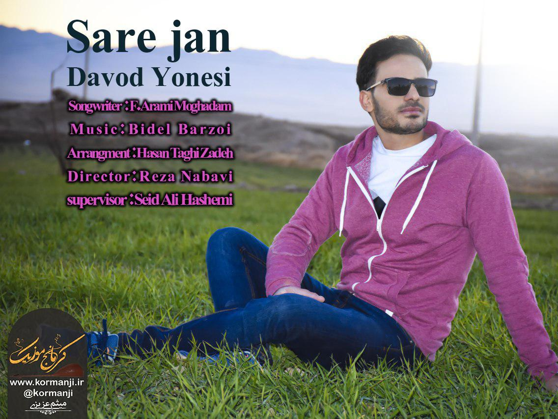 موزیک ویدئو جدید و بسیارزیبا از داودیونسی به نام ساره جان